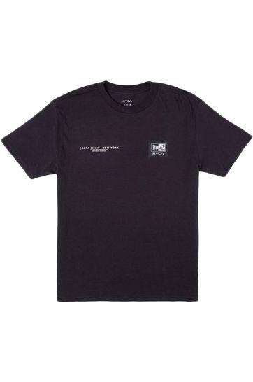 T-Shirt RVCA EVERLAST CM NY Black