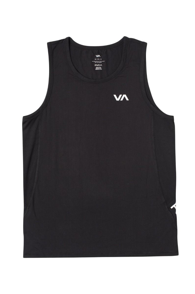 RVCA T-Shirt Tank Top SPORT VENT SL VA SPORT Black