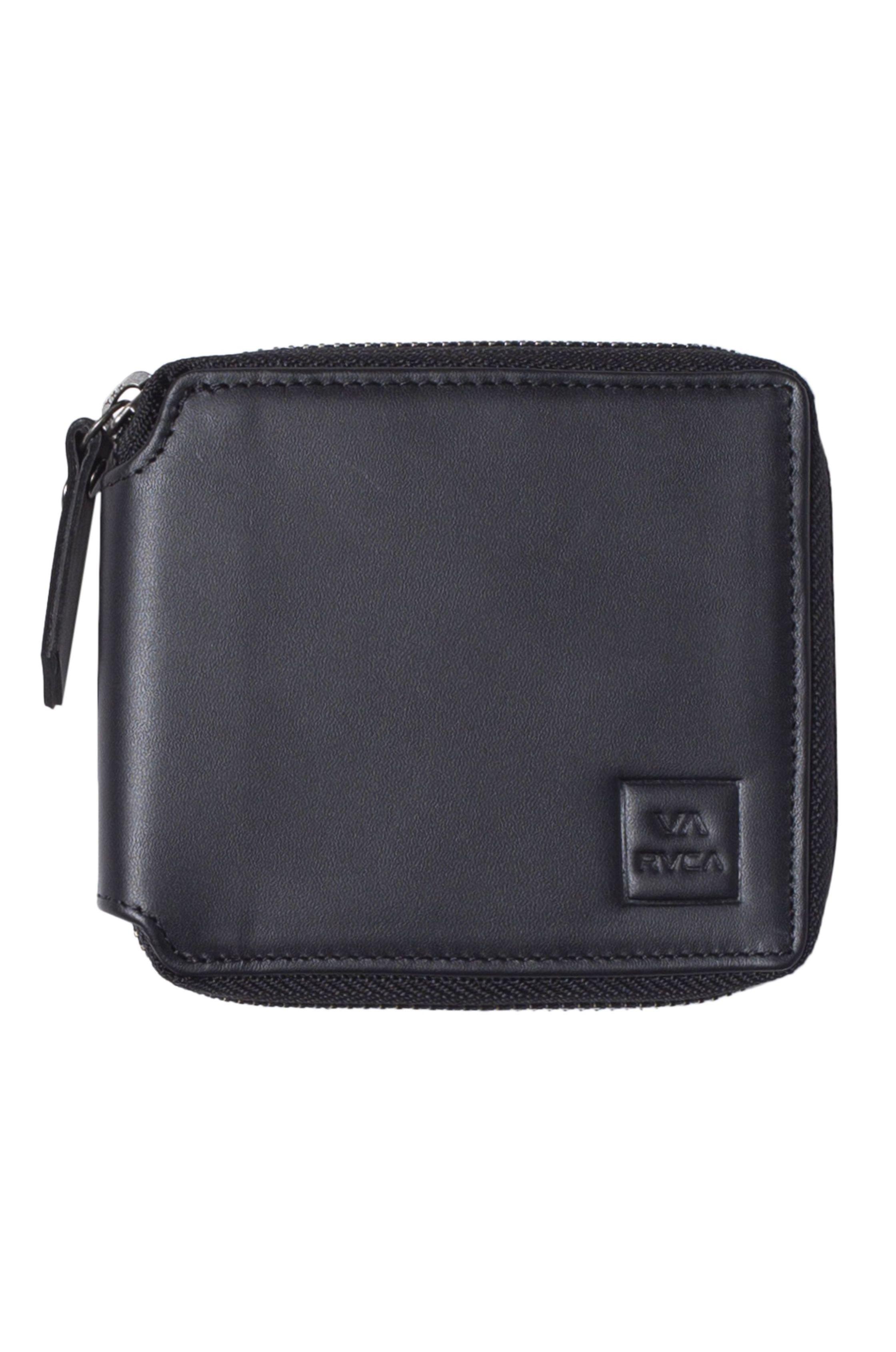 RVCA Wallet RVCA ZIP WALLET Black