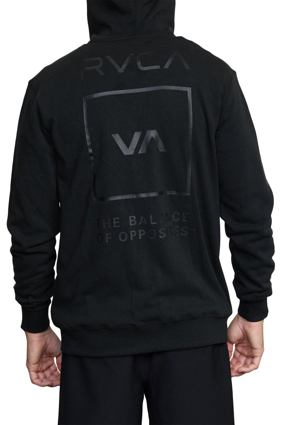 Sweat Fecho RVCA SWIFT HOODIE BOX VA SPORT Black