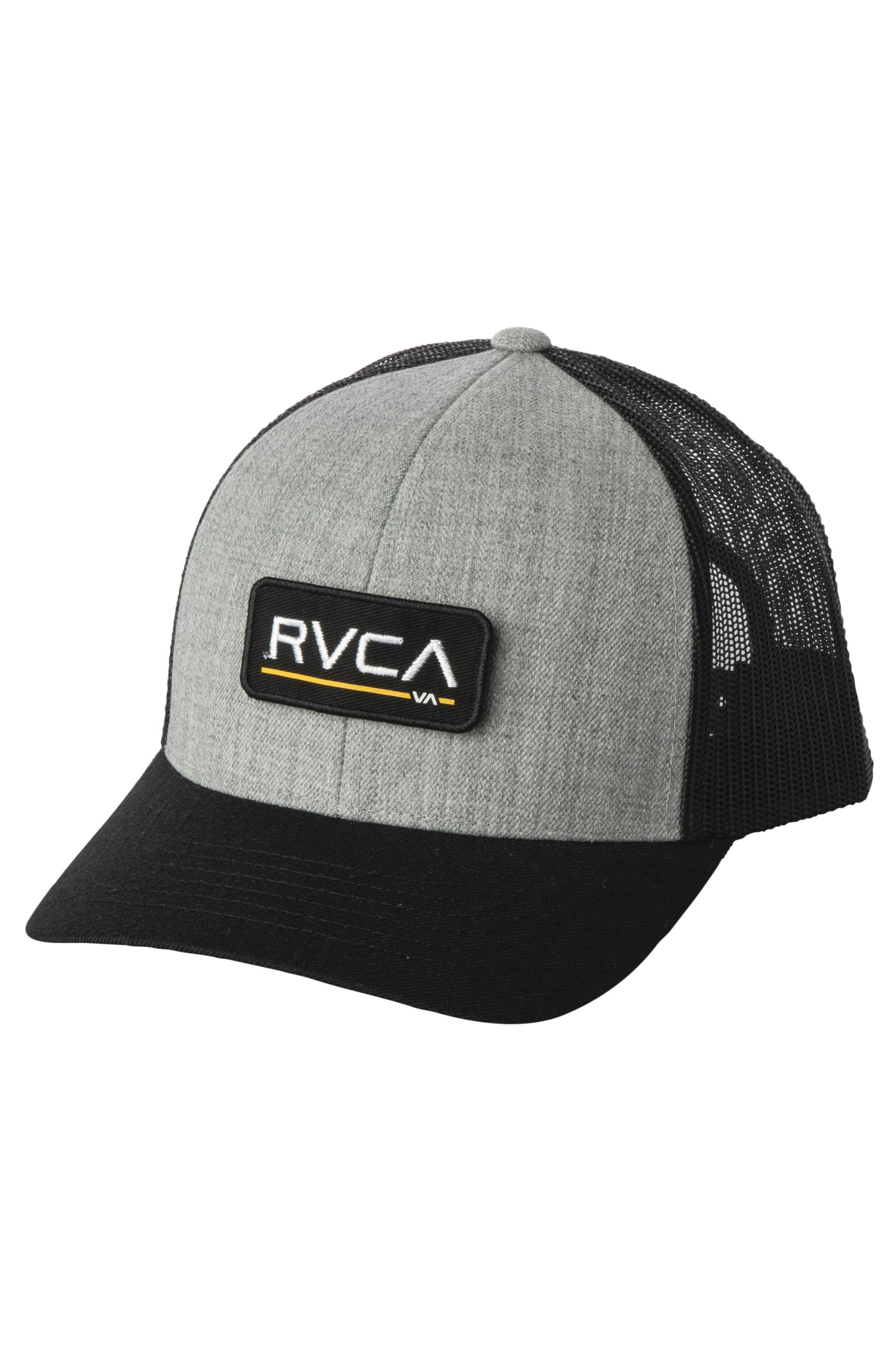 RVCA Cap   TICKET TRUCKER III B Hthr Grey/Black