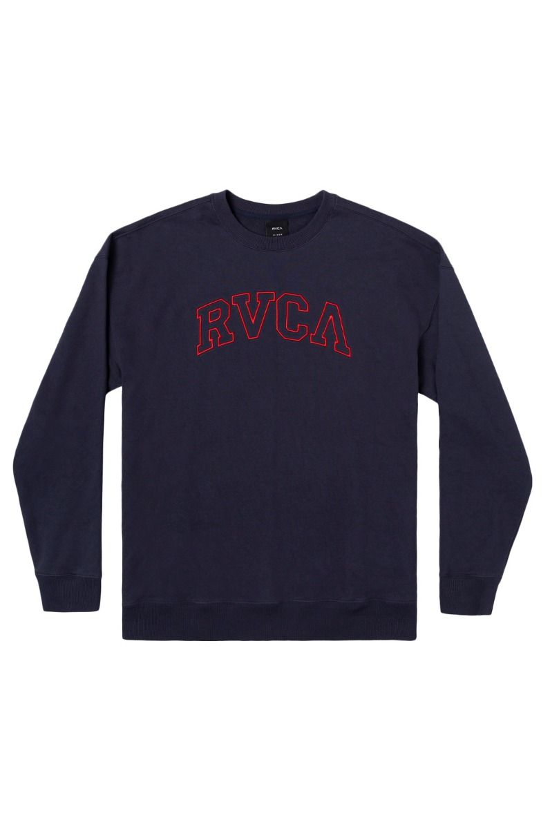 Sweat Basica RVCA HASTINGS EMB CREW Moody Blue