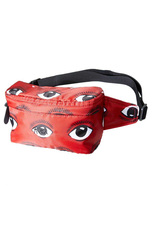 RVCA Waist Bag RECRUITED BUM BAG Poppy Red