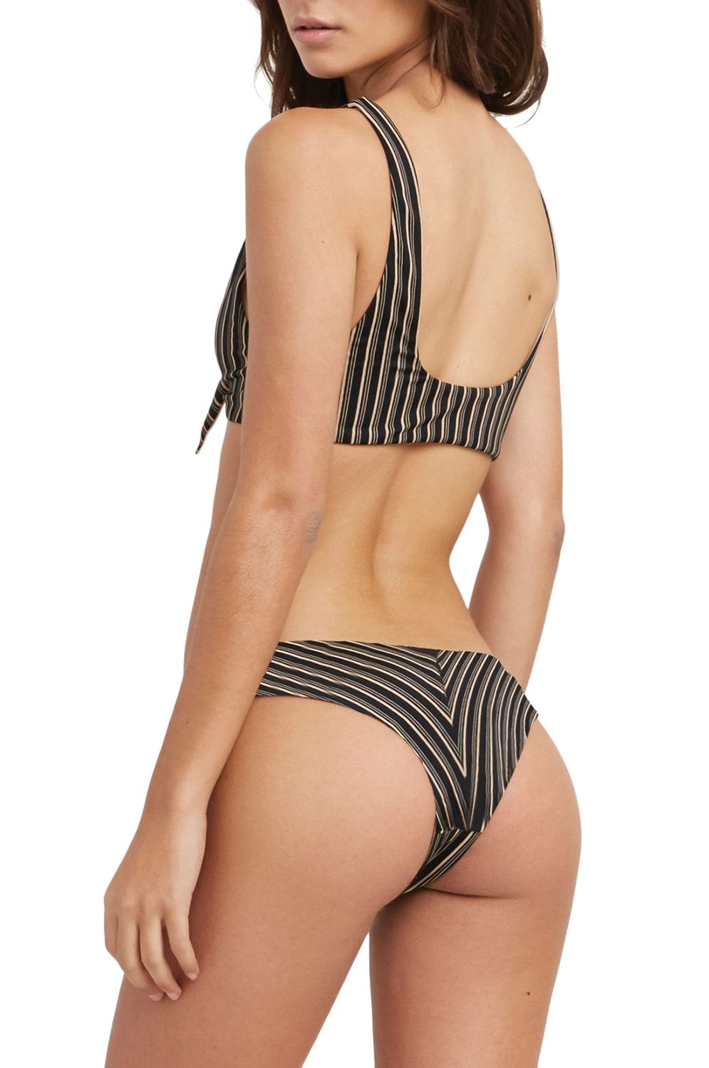 Bikini Tanga RVCA AMALFI CHEEKY Black