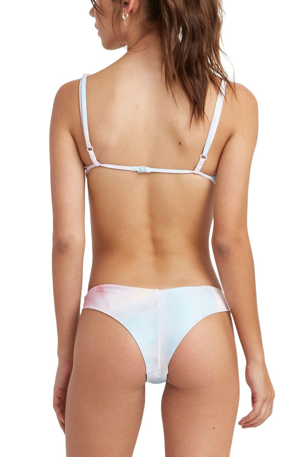 Bikini Tanga RVCA ENTRANCE CHEEKY Multi
