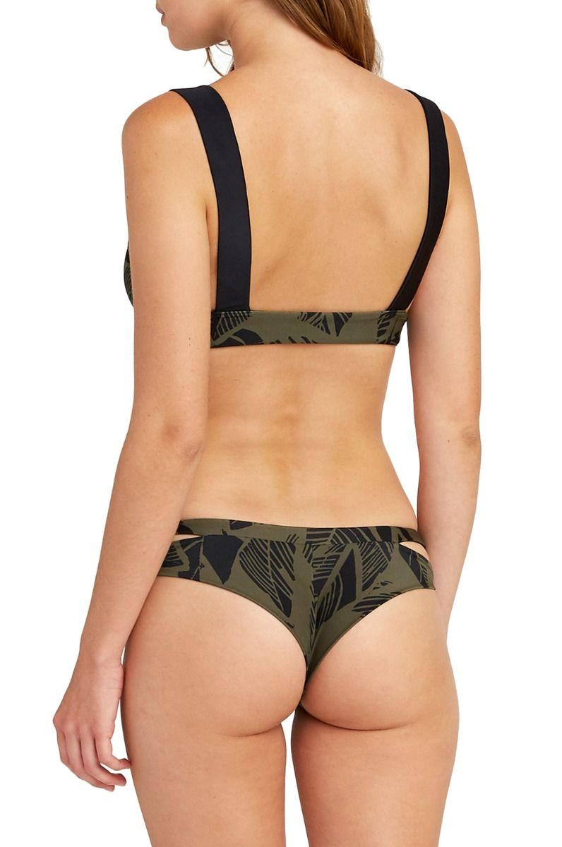 Bikini Tanga RVCA HARLO CHEEKY Army Fade