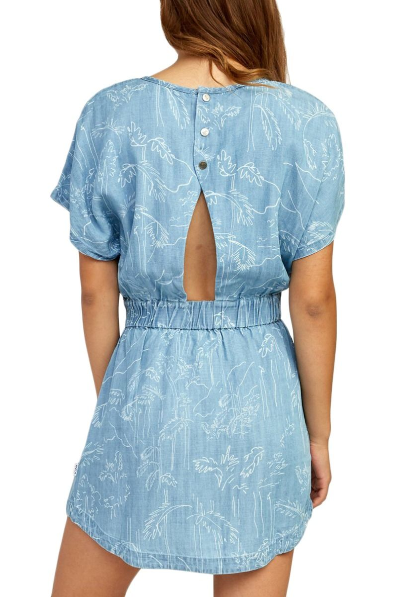 Vestido RVCA NOTHING LEFT Chambray