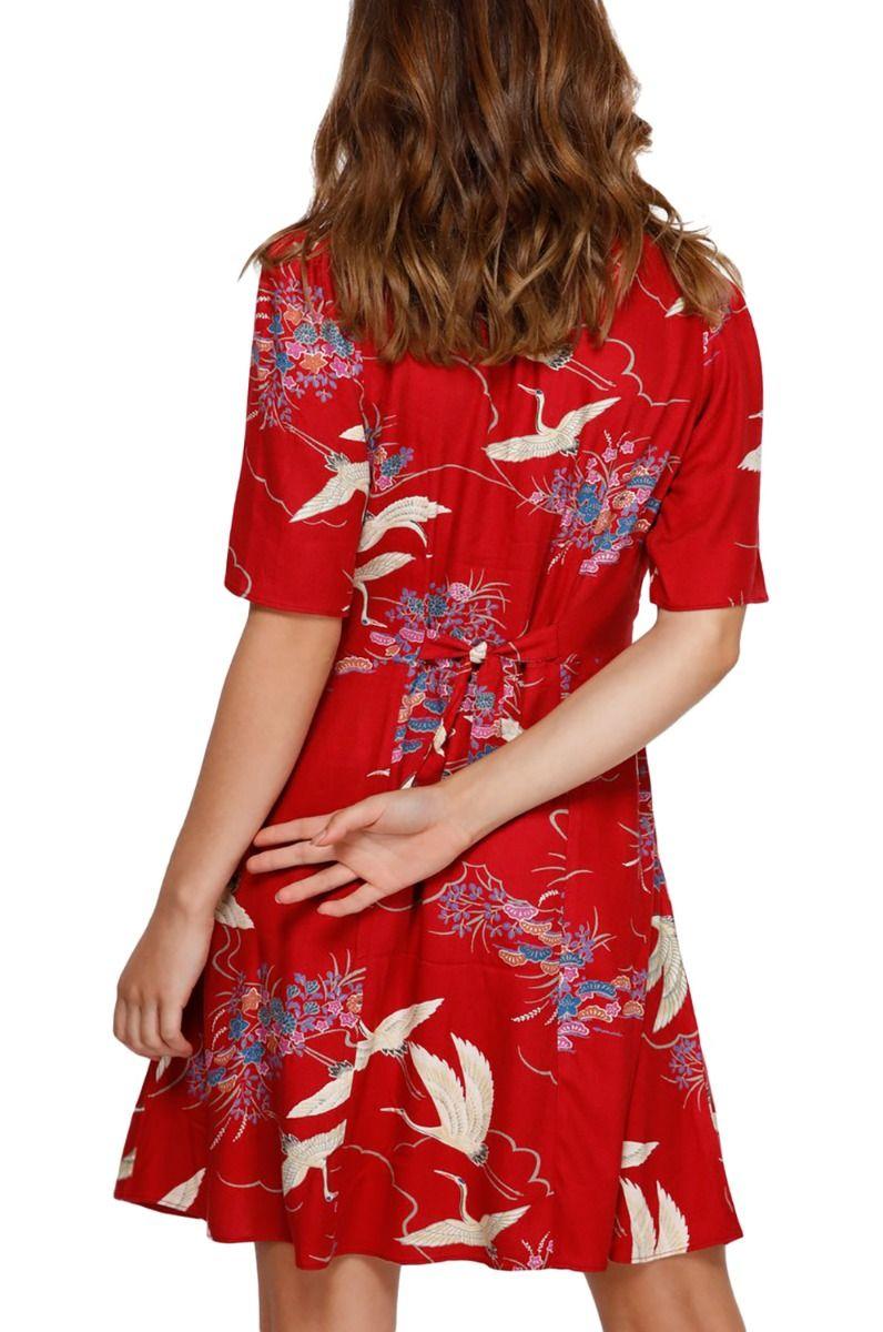Vestido RVCA CRANE Red