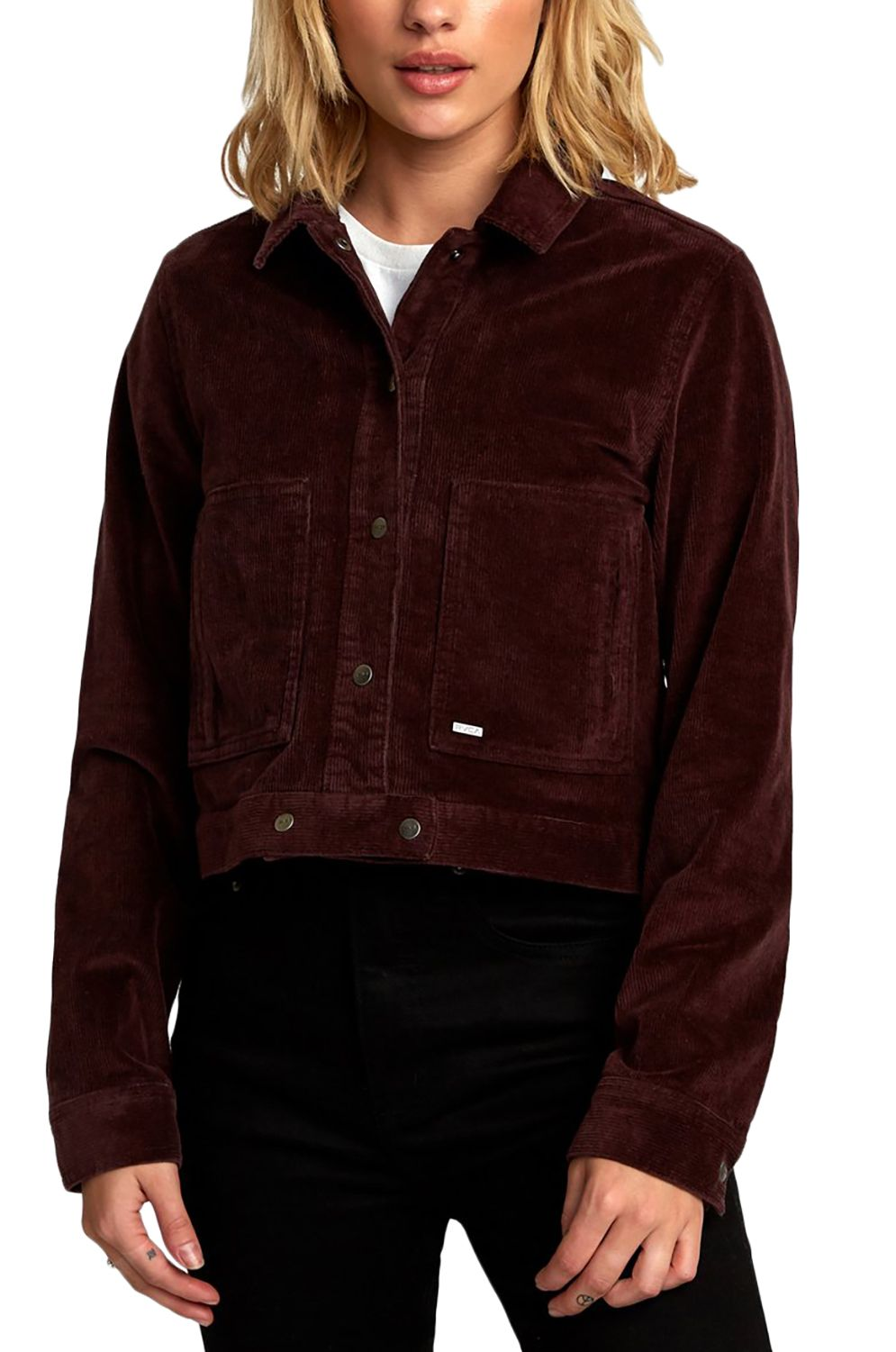 RVCA Jacket OUT OUT Fudge