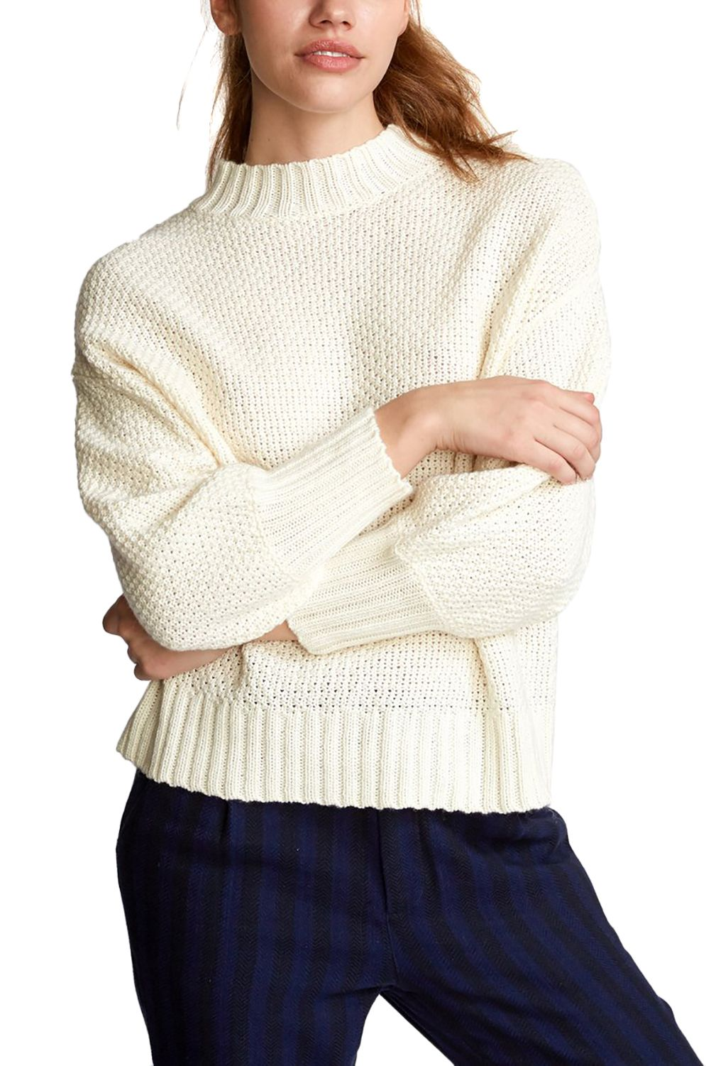 RVCA Sweater VOLT Oatmeal