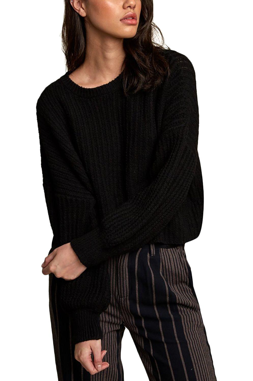 RVCA Sweater LOUDER Black