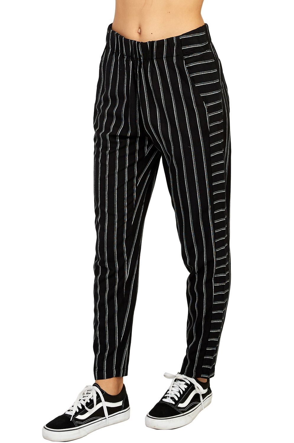 Calças RVCA CHILL VIBES Black Stripes