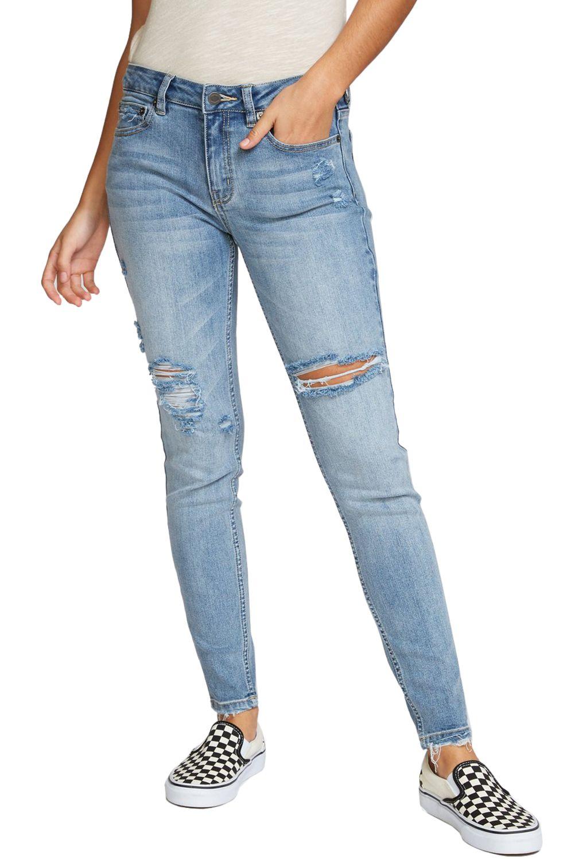 RVCA Pants DAYLEY Vintage Blue