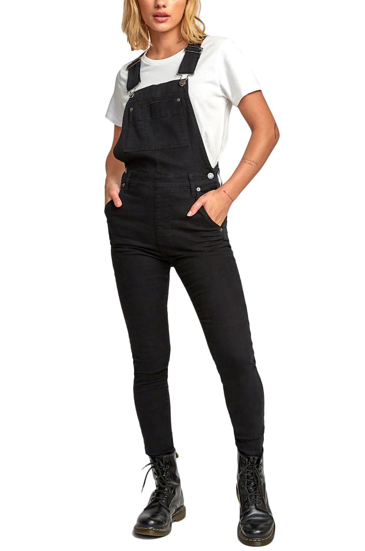 RVCA Jumpsuit FOSS Black/Black