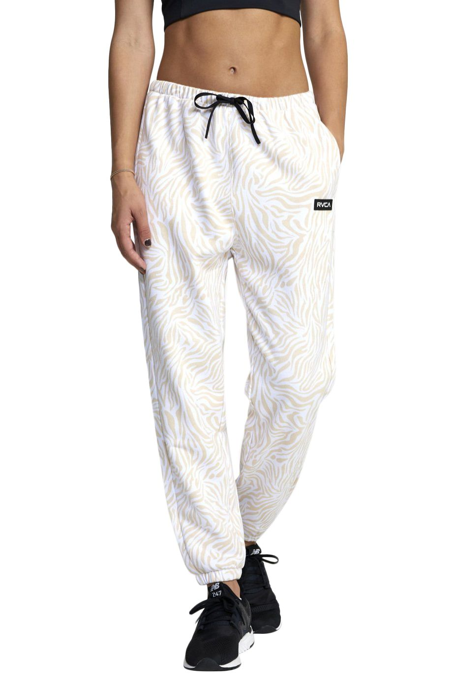 RVCA Pants VA ESSENTIAL JOGGER White Zebra