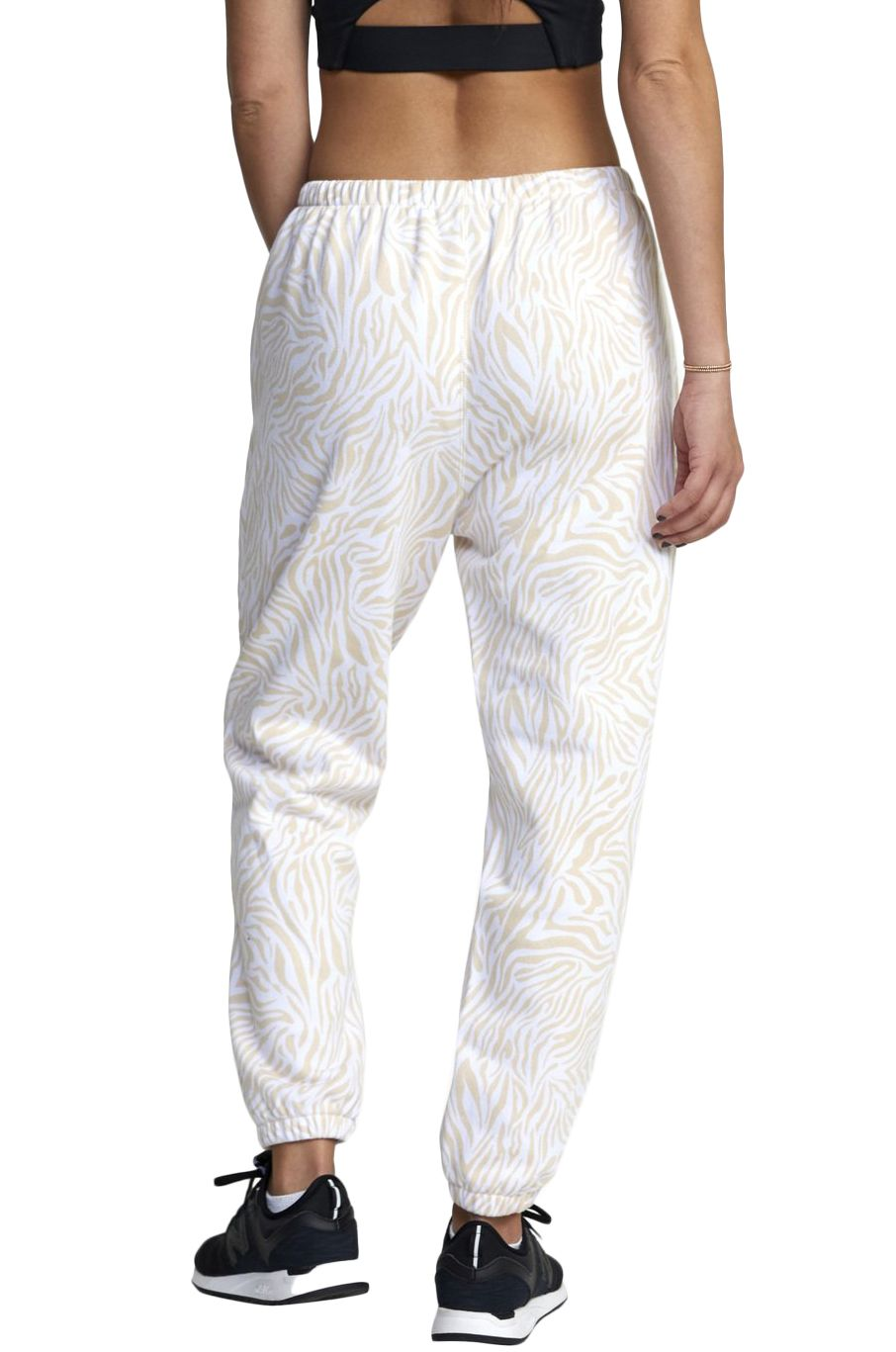 Calças RVCA VA ESSENTIAL JOGGER White Zebra