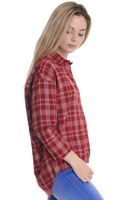 Camisa RVCA DRIFT AWAY Burnt Red
