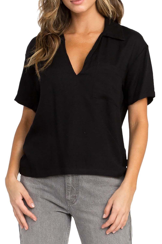 Camisa RVCA EXTRACT Black