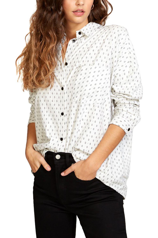 RVCA Shirt HERA White