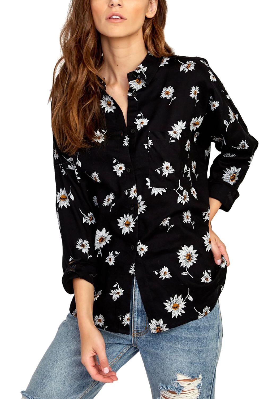 RVCA Shirt HERA Black