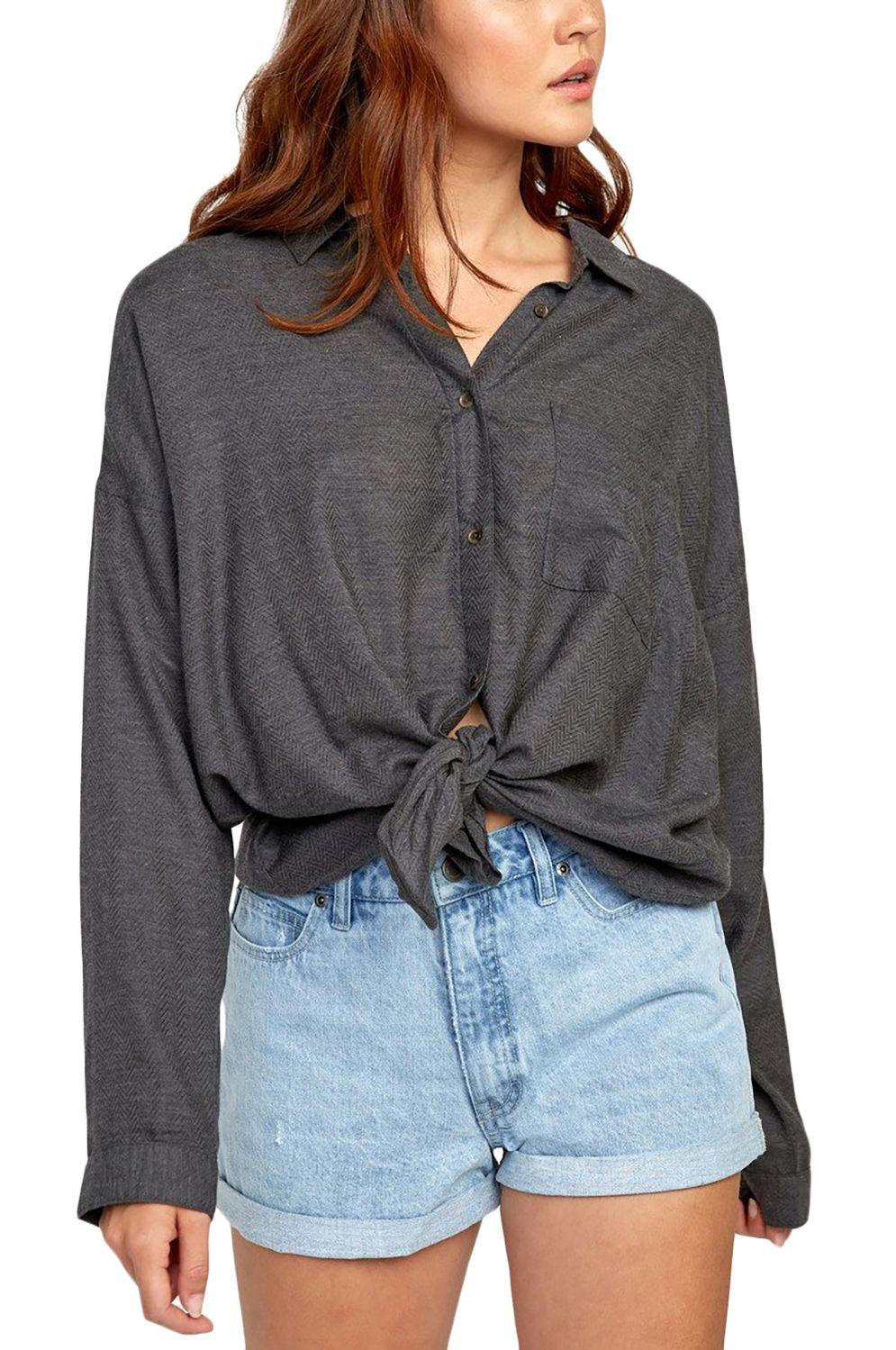 RVCA Shirt HABIT Black