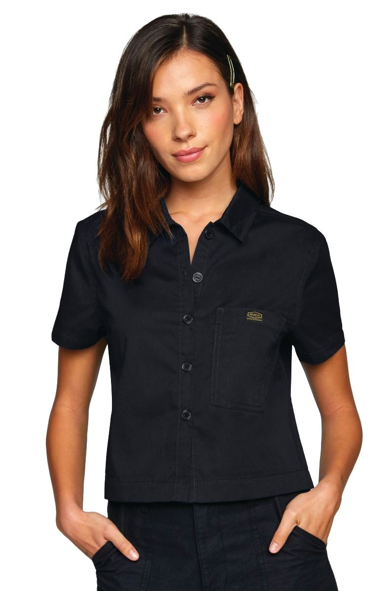 Camisa RVCA RECESSION SHIRT RECESSION COLLECTION Rvca Black