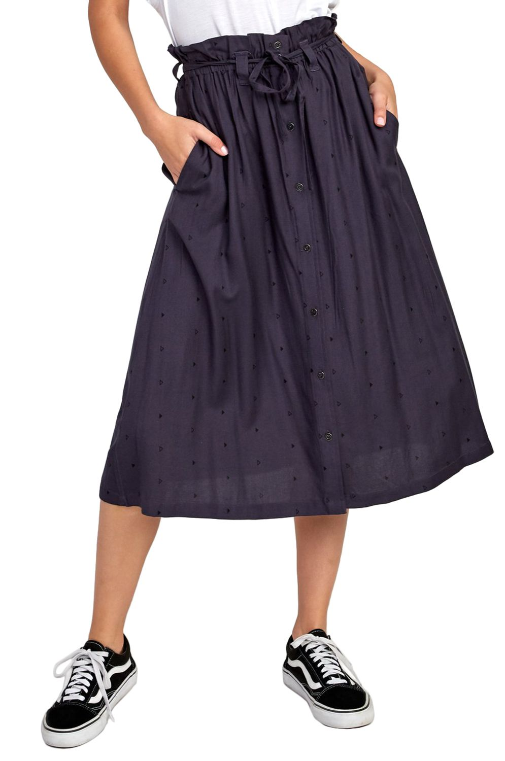 RVCA Skirt SOUNDED Ink