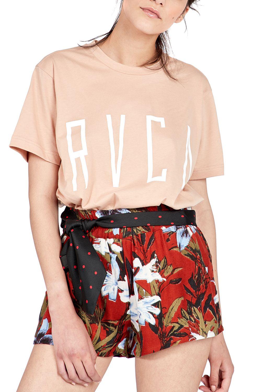 T-Shirt RVCA STILT TEE Nude