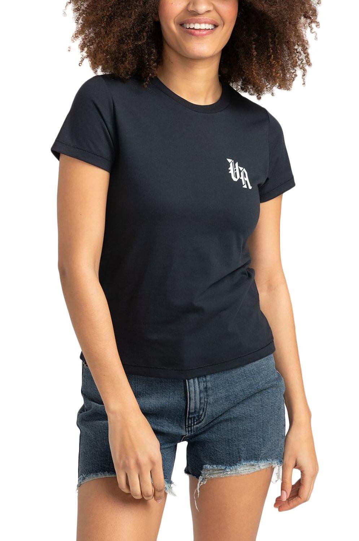RVCA T-Shirt BENJAMIN Faded Black
