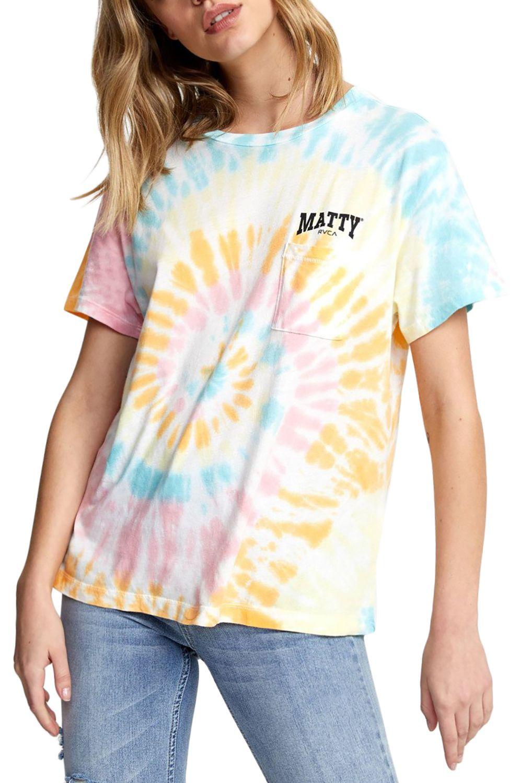 RVCA T-Shirt MATTYS TIE DYE TEE Multi