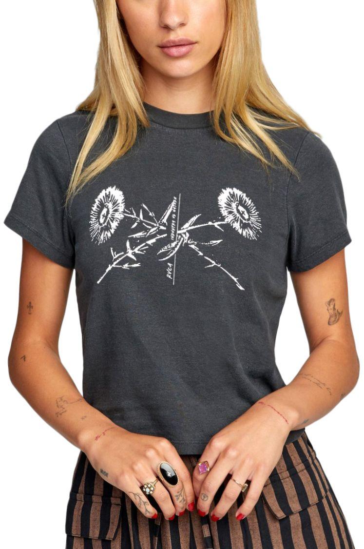 T-Shirt RVCA BOOKPRESS SS Black