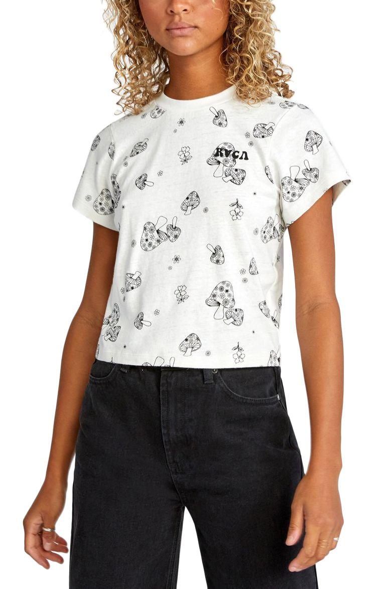 T-Shirt RVCA FUN TIMES SS Vintage White