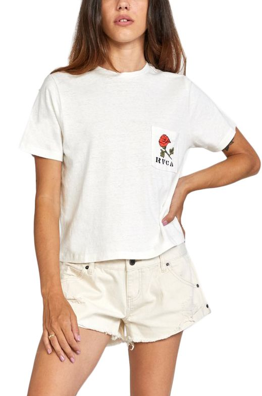 T-Shirt RVCA FOREVER SS Vintage White
