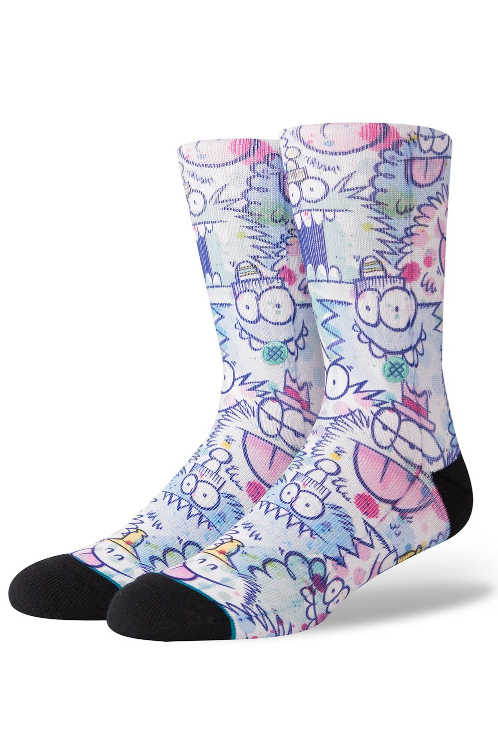 Stance Socks KEVIN LYONS WATERCOLOR Blue