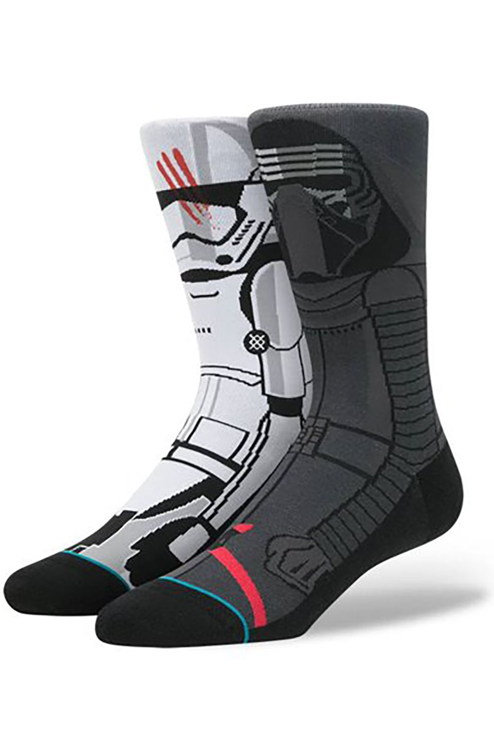 Stance Socks DISTURBANCE Grey