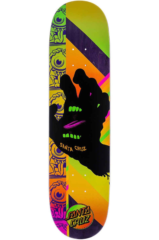 "Santa Cruz Skate Board AFTERGLOW HAND VX 8"" x 31.6"" Multi"