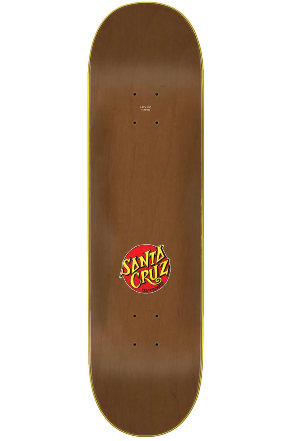 Tabua Santa Cruz POWER PLY 8.25