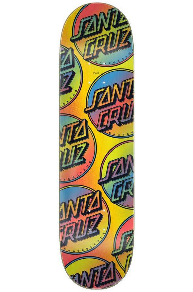 "Santa Cruz Skate Board 8.25"" X 31.8"" CONTRA ALLOVER Assorted"