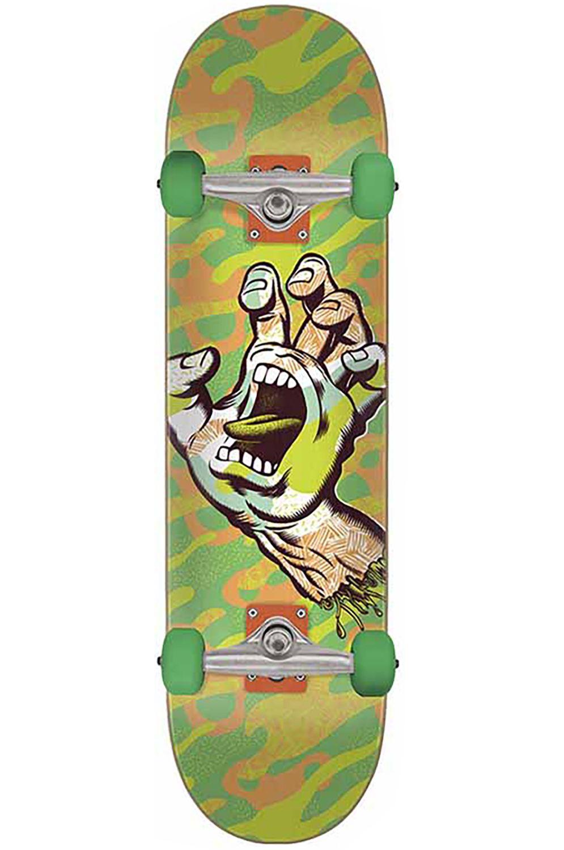 "Santa Cruz Skate PRIMARY HAND 8"" x 31.6"" Green"