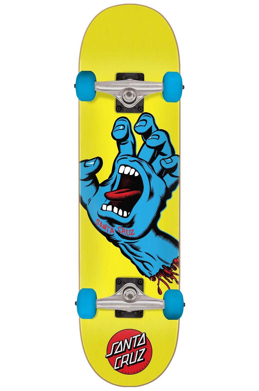 "Street Skate Santa Cruz 7.75"" X 30"" SCREAMING HAND MINI Assorted"