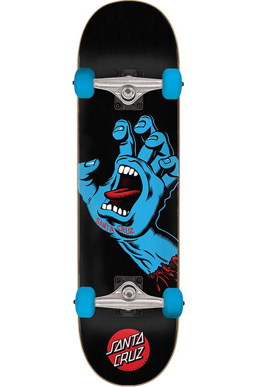 "Santa Cruz Skate 8"" X 31.25"" SCREAMING HAND FULL Assorted"
