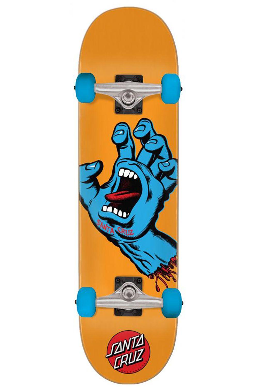 "Street Skate Santa Cruz 7.8"" SCREAMING HAND Multi"