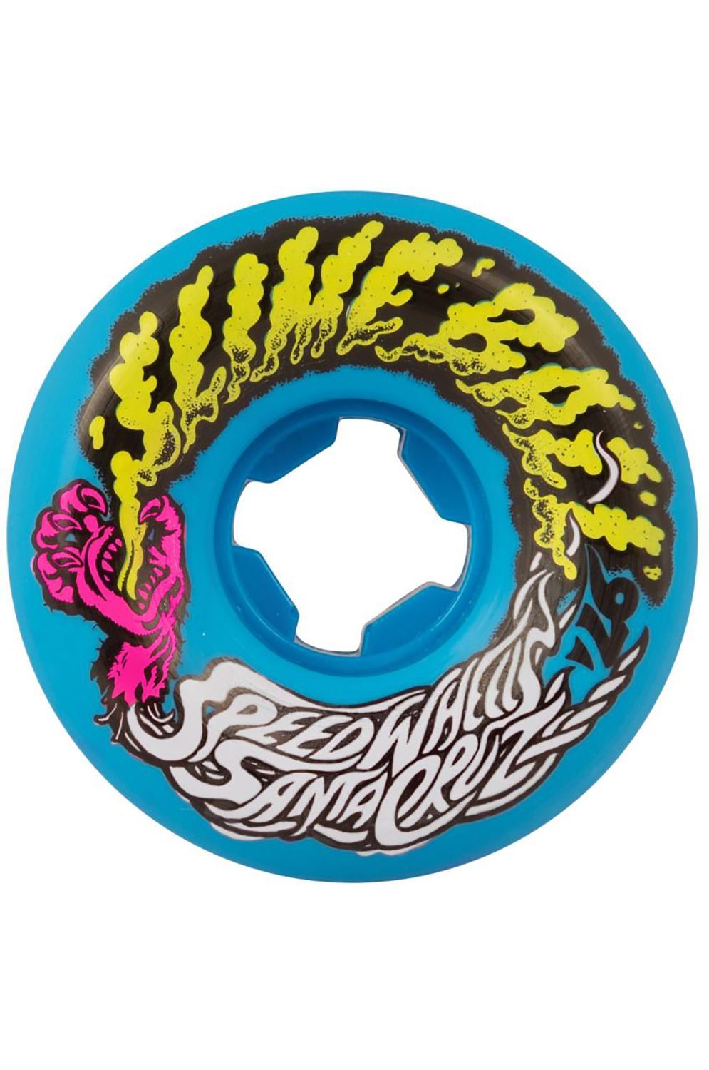 Santa Cruz Skate Wheels SLIME BALLS VOMIT MINI Blue