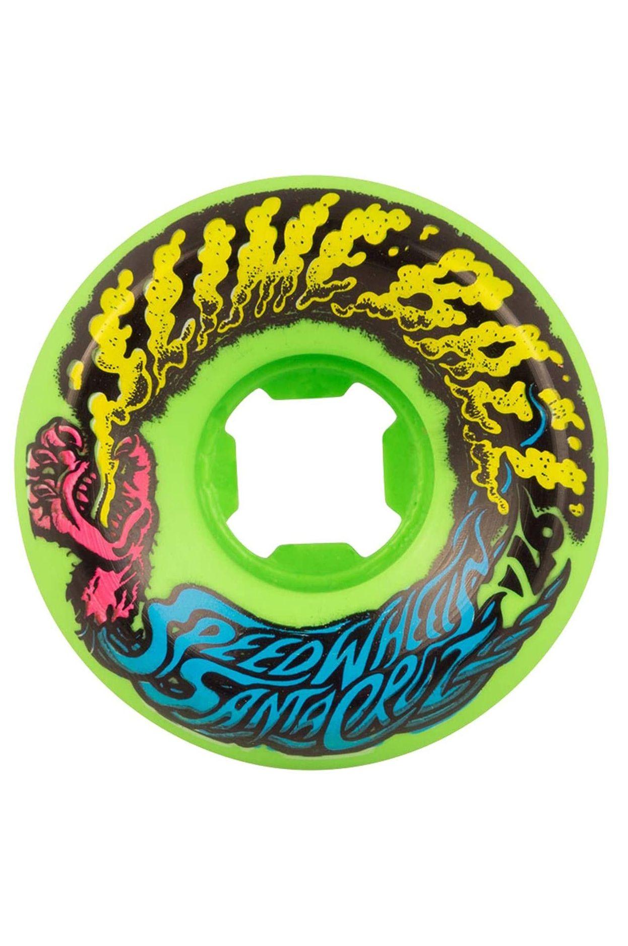 Rodas Santa Cruz 54MM SLIME BALLS VOMIT MINI Neo Green