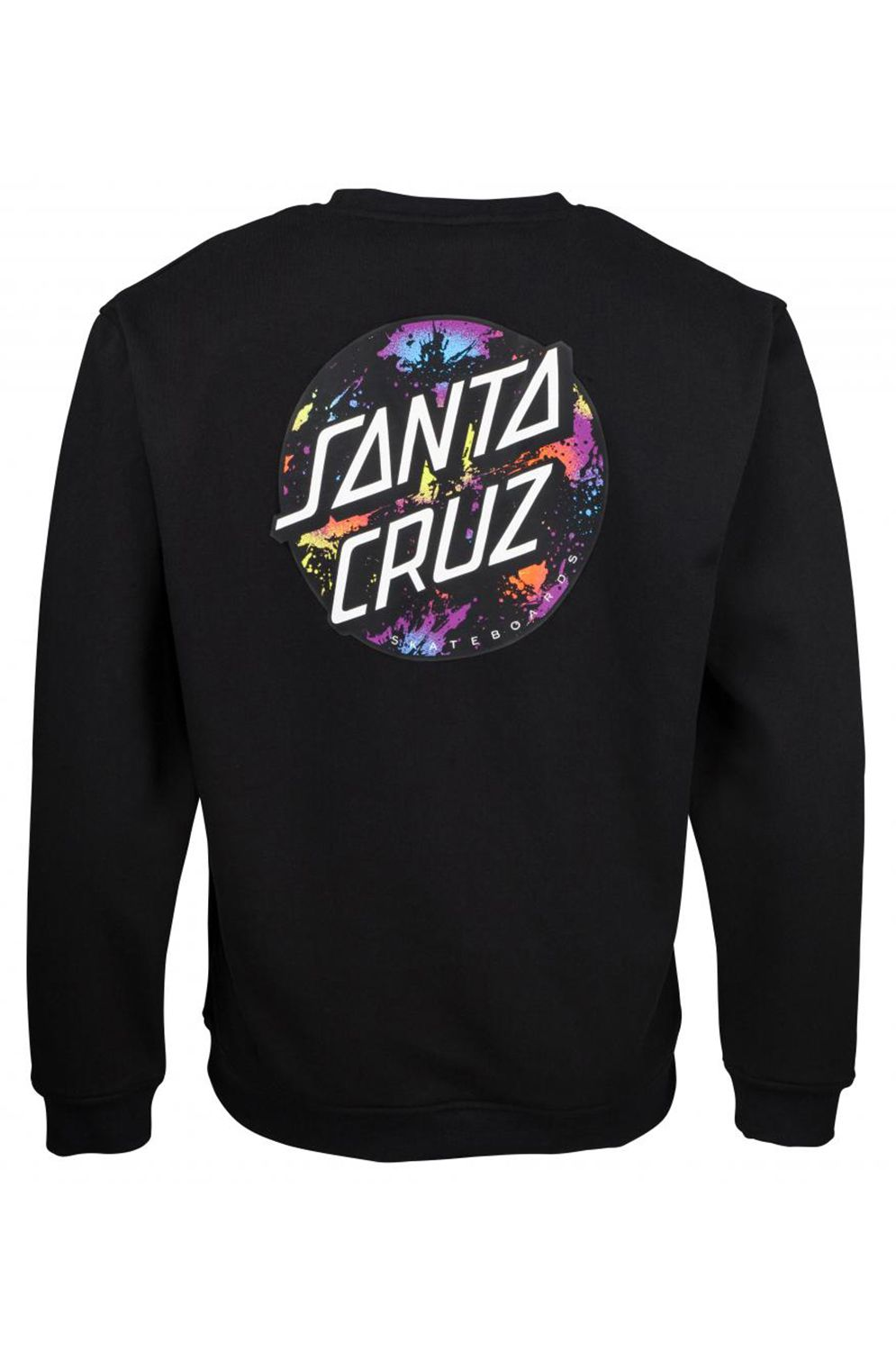 Sweat Basica Santa Cruz DOT SPLATTER Black