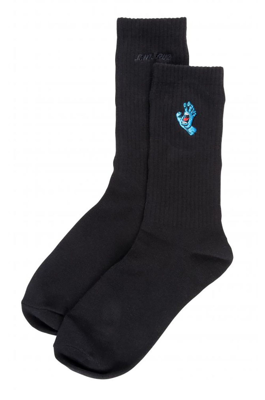 Santa Cruz Socks SCREAMING MINI HAND Black