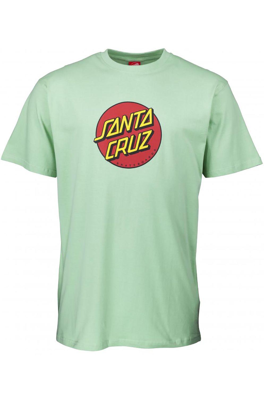 Santa Cruz T-Shirt CLASSIC DOT Mint