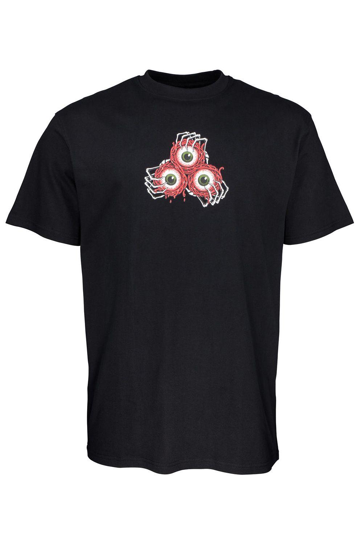T-Shirt Santa Cruz VEIN EYES Black