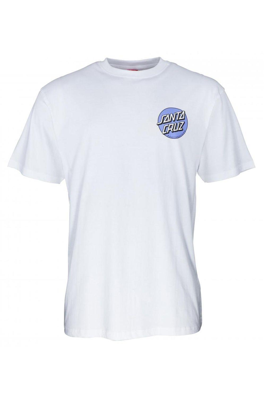 Santa Cruz T-Shirt ROB DOT 2 White