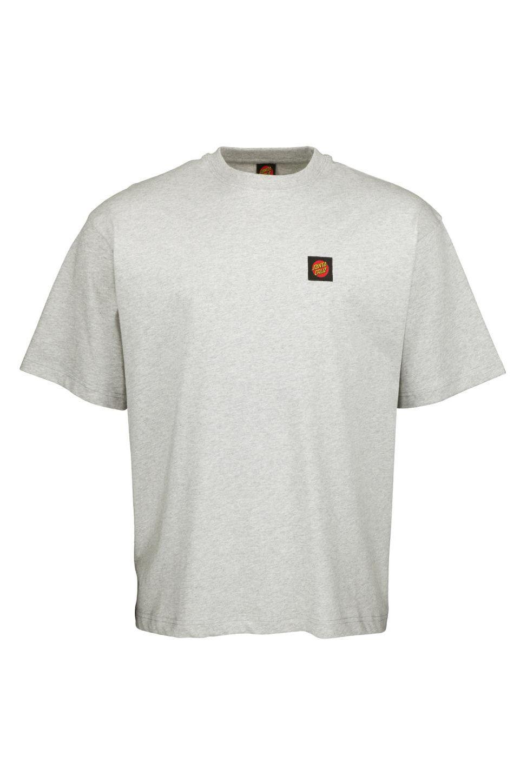 Santa Cruz T-Shirt CLASSIC LABEL Heather Grey